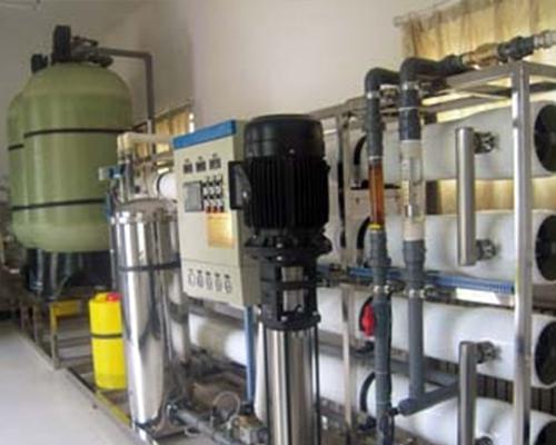 中石油10T/H单级反渗透纯水设备
