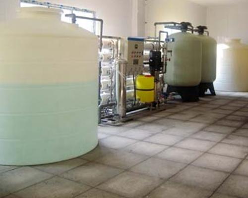 食品行业水处理设备(10T/H生产用水)